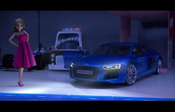 """Audi """"La muñeca que eligió conducir"""""""